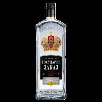 этикетка на бутылку водки Государев Заказ