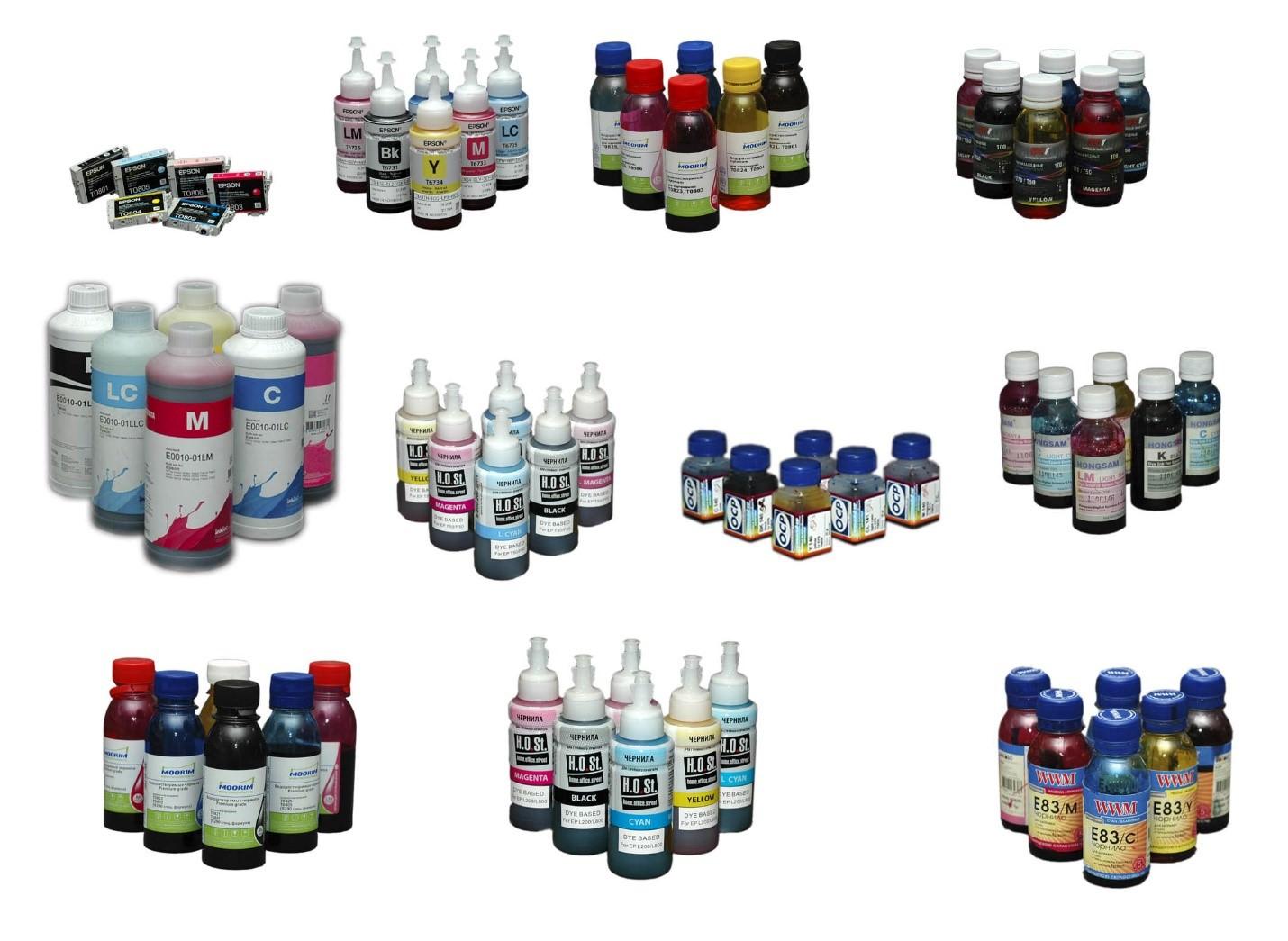 краски для печати